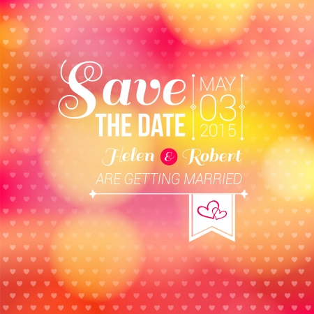 Save the date for personal holiday  Wedding invitation