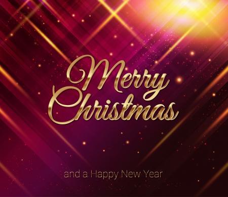 image kaart Vector Prettige Kerstdagen en Gelukkig Nieuwjaar