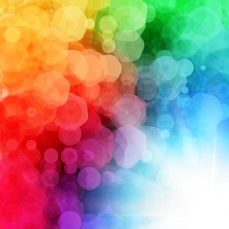Abstract geometric background with sun burst.  Vector