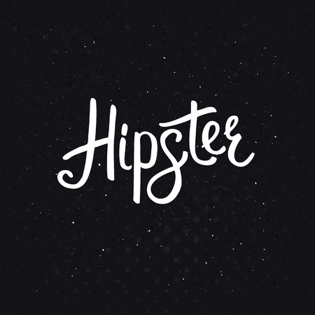 originality: Stylish Hipster Text in White Font Style on an Abstract Black Background with Dots Design.