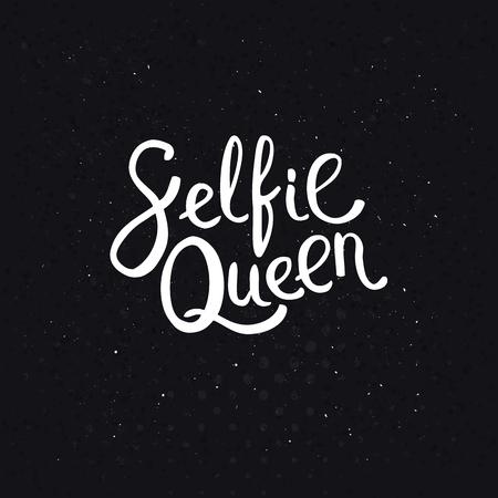 assured: Autofoto Queen Textos en blanco simple estilo de la fuente en un fondo Negro abstracto con puntos.