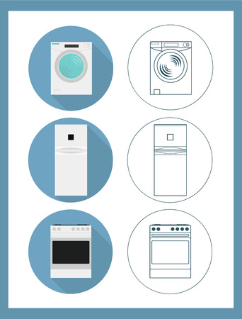 appliances: Appliances icon. Illustration
