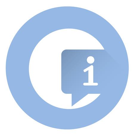 Stylish info icon .