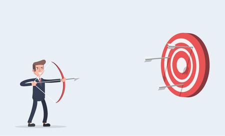 Aim at the target.
