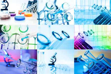 Collage of Test tubes