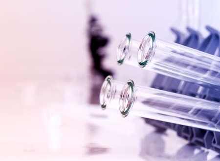 試験管クローズ アップ医療ガラス 写真素材 - 21691338