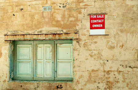 repossession: Old House For Sale.