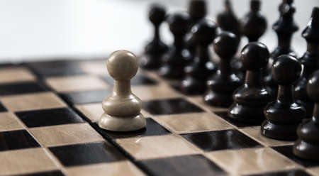 opposition: pawn opposition in the middle of the board.