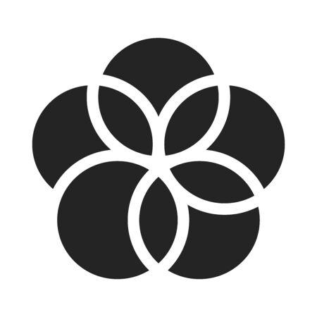 Partnerships for goals black glyph icon. Corporate social responsibility. Sustainable Development Goals. SDG color sign. Pictogram for ad, web, mobile app. UI UX design element