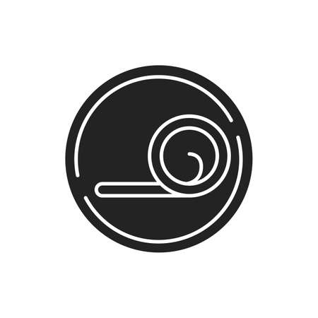 Ergonomic mattress black glyph icon. Works to human's shape and size. Designed with flexibility in mind. Pictogram for web page, mobile app, promo. UI UX GUI design element