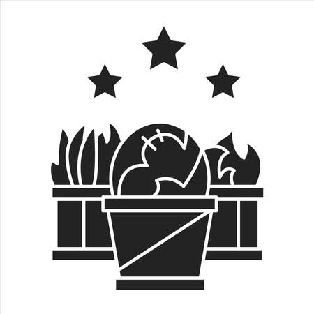 Plant propagation black glyph icon. The process which grows new plants from a variety of sources: seeds, cuttings, and other plant parts. Pictogram for web page, mobile app, promo