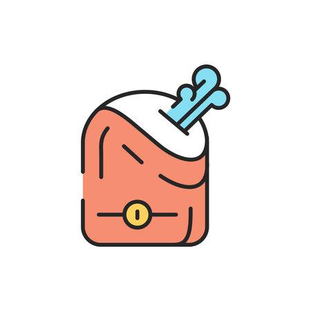 Air humidifier color line icon. Editable stroke.