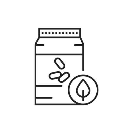 Organic non-grinding rice color line icon. Pictogram for web page, mobile app, promo. 版權商用圖片 - 162791486