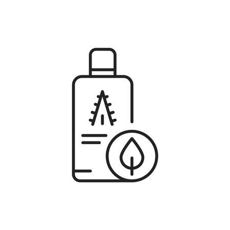 Organic aloe juice color line icon. Pictogram for web page, mobile app, promo. 向量圖像