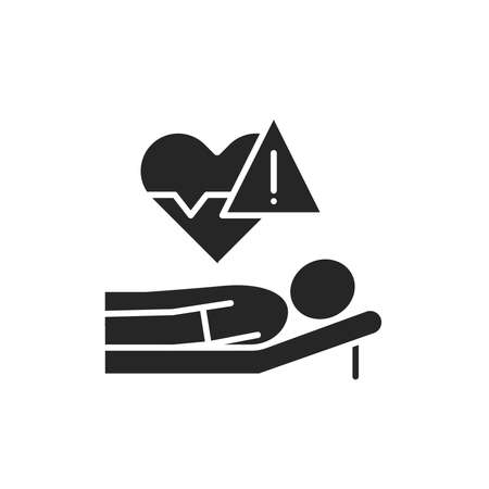 Health threat line color icon. Sign for web page, mobile app, button, logo