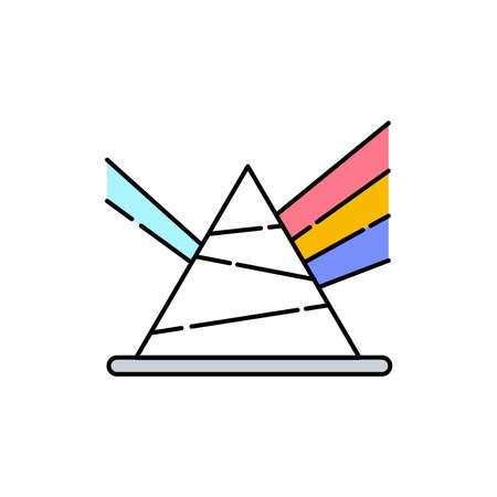 Acoustics olor line icon. Pictogram for web page, mobile app, promo. UI UX GUI design element. Editable stroke.