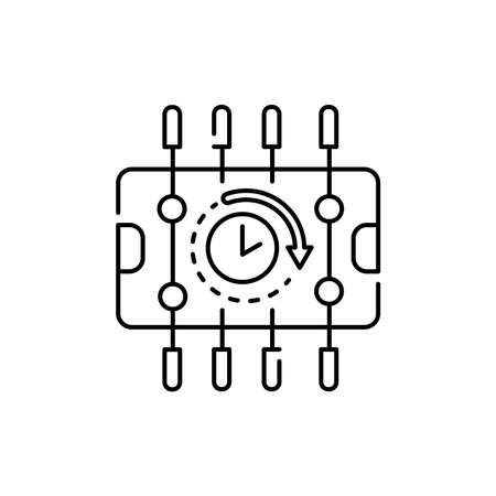 Table soccer rental olor line icon. Pictogram for web page, mobile app, promo. UI UX GUI design element. Editable stroke.