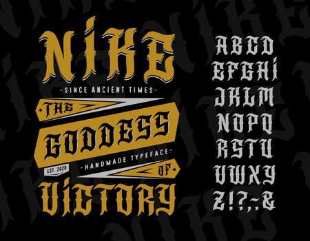 Font Nike, the Goddess of Victory.
