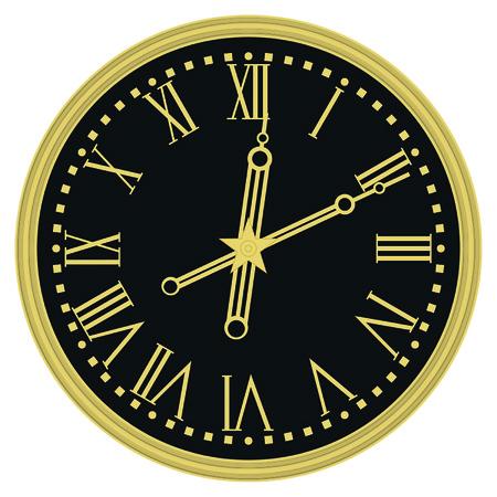 kremlin: kremlin clocks Illustration