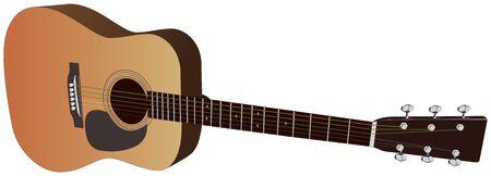 Acoustic guitar - Vector
