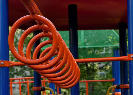 part of Playground in park