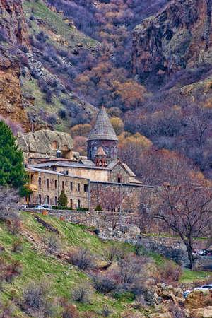 geghard tower in Armenia