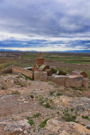Khor Virap Monastery in Armenia Stok Fotoğraf