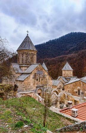 Haghartsin Monastery in Armenia in spring Stok Fotoğraf