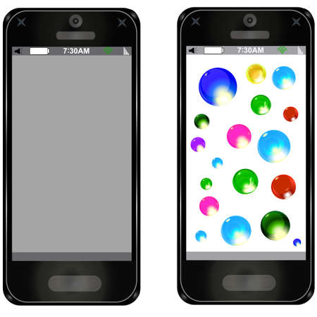 smart phone with Touch New functions