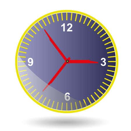 clockface: Clock-face