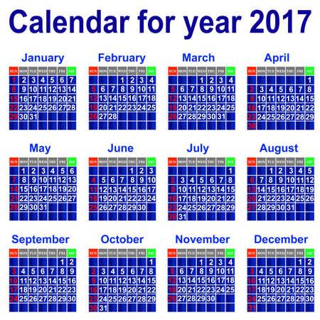 conducting: Calendar 2017