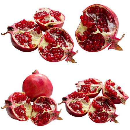 materia prima: Melograno, vitamina, tropicale, dolce, delizioso, estate, rosso, Seme, Materia. Archivio Fotografico