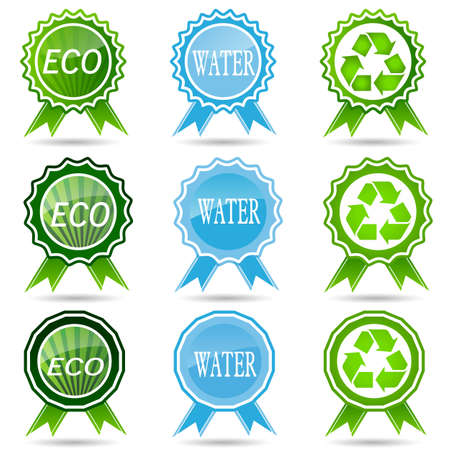 environmentally friendly: Ecology, Liszt, Summary, Business, Environmentally friendly, Marketing, Product, Label, Plant, Vector, Nature.