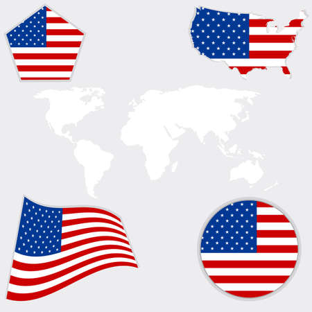 Flag,  USA,  American, Culture, Star, Form, Striped,  Countries,  Waving, Number.