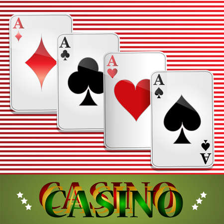 Poker, Casino, Cards, Background, Gambling, the Symbol, Playing, Good luck, Sign, Success.