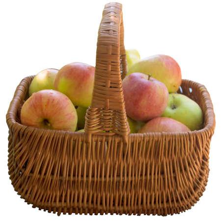 Apple, Fruit, Crude, Basket, Ripe, Sweet, Product, Fruit, Food is, A Lot Of. photo