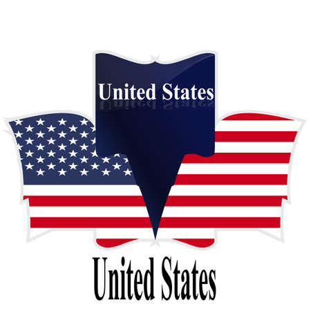 reference point: Flag,  USA,  American, Culture, Star, Form, Striped,  Countries,  Waving, Number.