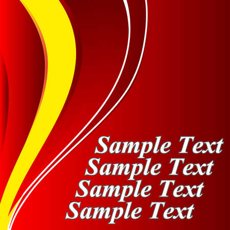 lava lamp: Abstract red background. Illustration