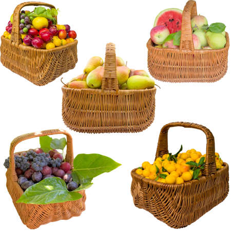 Fruit, healthy, red, watermelon, pear, grapes, fresh, cherry plum, food, sweet.