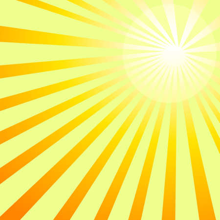 Shining sun rays backgroung vector image.