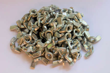 Nuts Bolts Background.