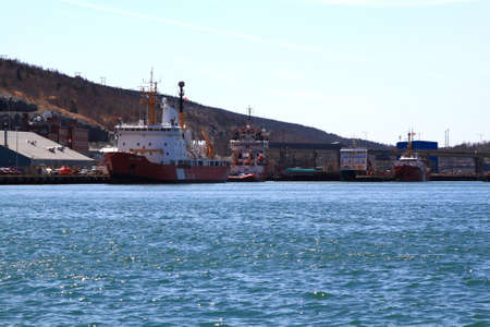 long weekend: ST  JOHN S HARBOR - MARCH 17  St  John s Harbor, Newfoundland, Canada on March 17, 2014  Town of St  John s prepares for Celebration of Victoria Day Long Weekend and the CCGS ships ready to rescue  Editorial