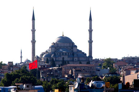 fatih: Istanbul view of mosque Fatih district
