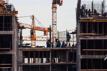 scaler: steeplejack workers on construction activities