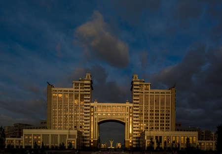 astana: Astana kazakhstan Editorial