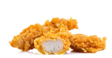Chicken Strips on a white background