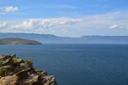 View of Lake Baikal. Siberia. Stock fotó