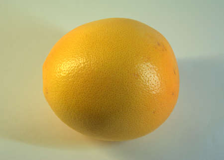 Ripe, juicy, tasty, seductively looking grapefruit fruit. The picture was taken in the lightbox, close-up.