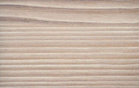 Artificially aged birch, a fragment of natural wood with wide stripes close-up. Background, pattern, texture. Standard-Bild