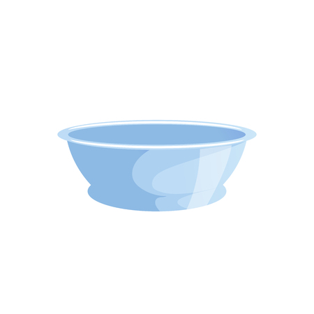 Cartoon simple colors bath washbowl. Banco de Imagens - 85982002